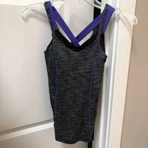 LULULEMON - TOP WITH RACER BACK